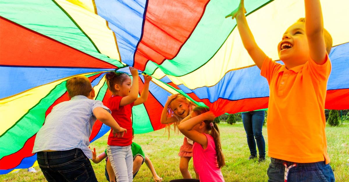 Bewegungsspiele in Kindergarten und Grundschule