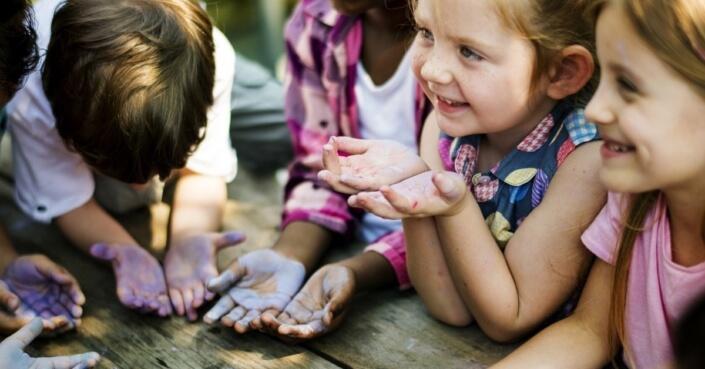 BACKWINKEL-Blog – Beitrag zum Thema Kreisspiele im Kindergarten
