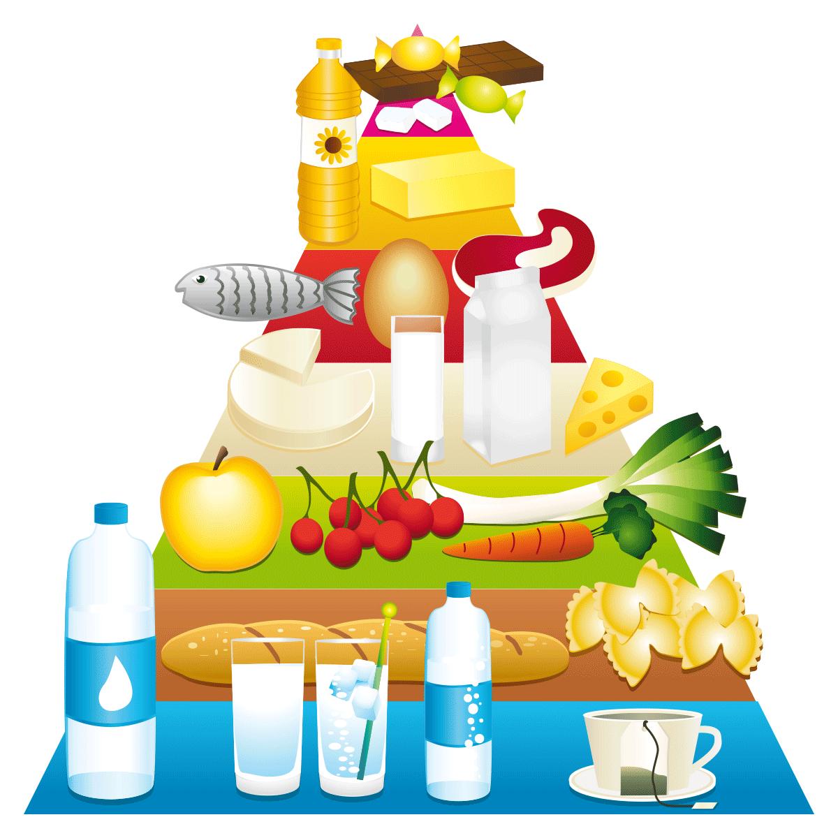 Eine ausgewogene Ernährung schmeckt und ist gesund