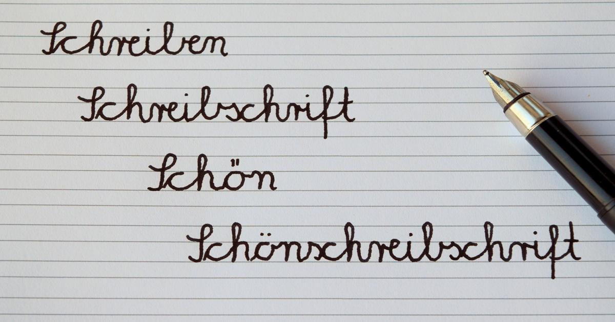 Padp Script 002 Buchstaben Sticken Ii Schreibschrift